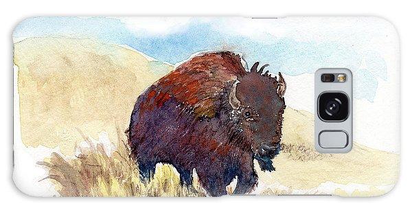 Running Buffalo Galaxy Case by C Sitton