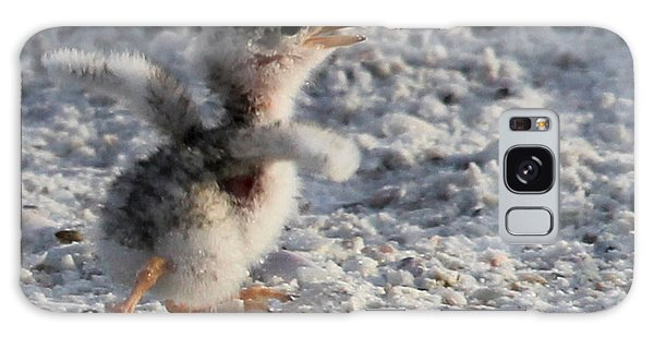 Running Free - Least Tern Galaxy Case by Meg Rousher
