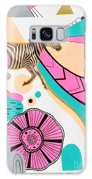 Zebra Galaxy S8 Case - Running High by Susan Claire
