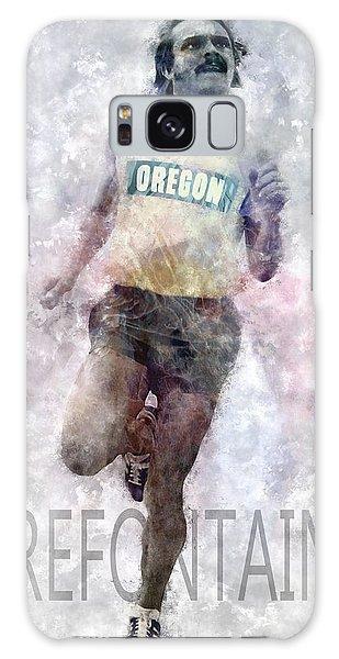 Running Legend Steve Prefontaine Galaxy Case by Daniel Hagerman