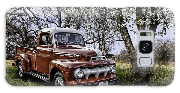 Rural 1952 Ford Pickup Galaxy Case by Betty Denise