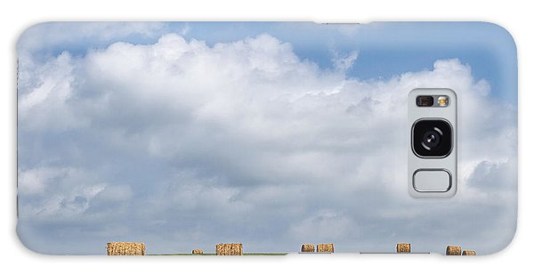 Haybale Galaxy Case - Rural America - A View From Kansas Country Roads by Scott Bean