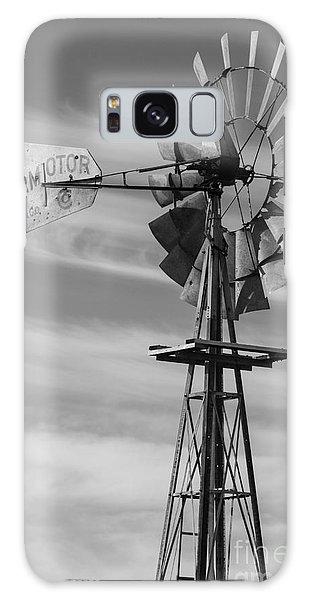 Rural Nebraska Windmill Galaxy Case