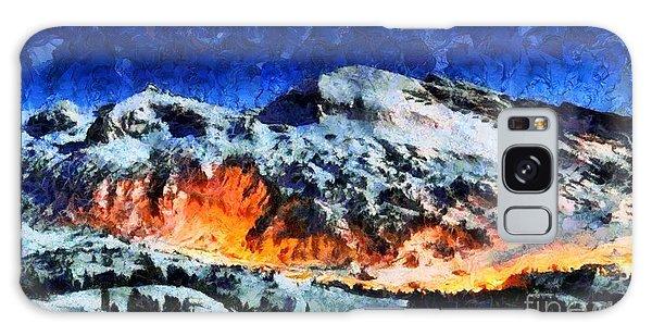Rural Radiance  Galaxy Case by Elizabeth Coats