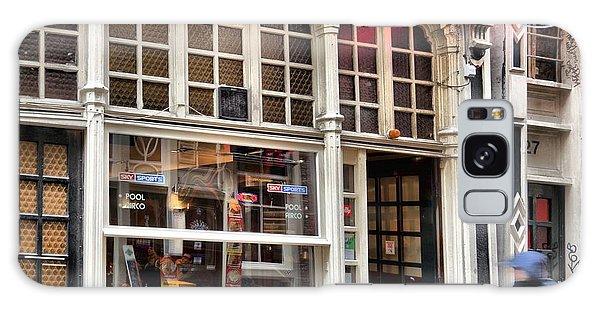 Rushing Past The Amsterdam Kafe Galaxy Case