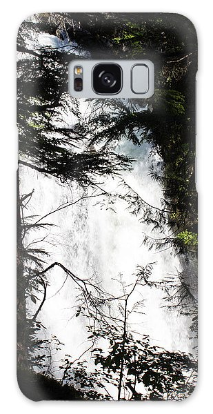 Rushing Through The Trees Galaxy Case