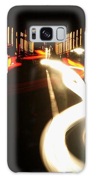 Rushing Traffic Galaxy Case by Rajiv Chopra