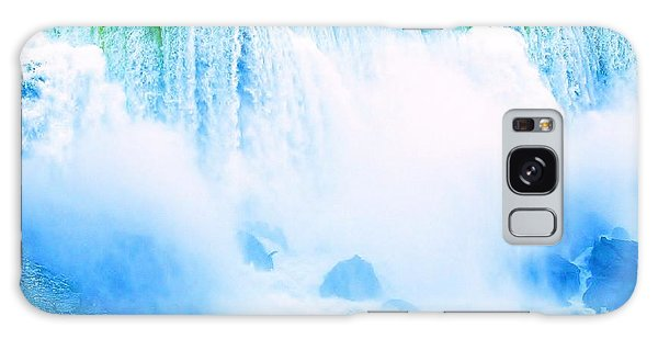 Galaxy Case featuring the photograph Rushing Waters by Al Fritz