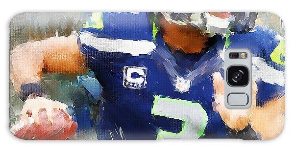 Sport Galaxy Case - Russell Wilson by Lourry Legarde