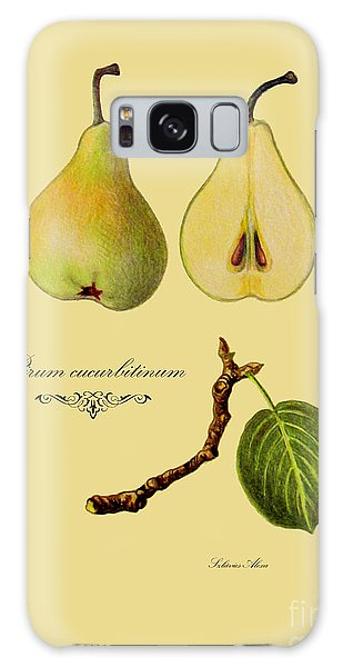 Russet Pear Galaxy Case