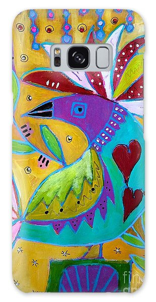 Russian Bird  Galaxy Case