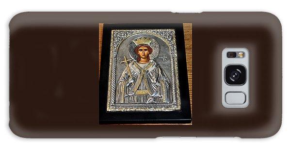 Russian Byzantin Icon Galaxy Case by Jay Milo