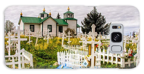 Russian Orthodox Church In Ninilchik Alaska Galaxy Case