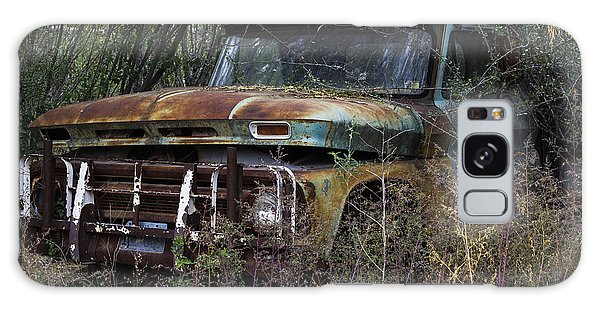 Rust Bucket Galaxy Case by Amber Kresge