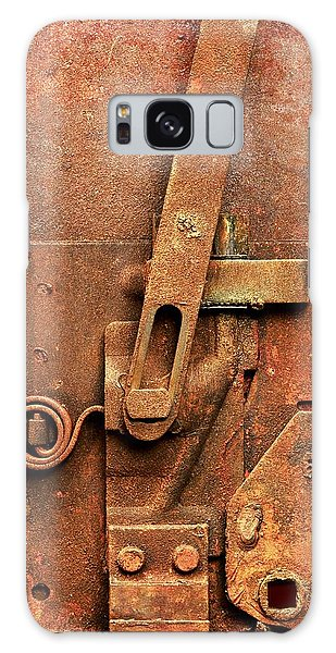 Rusted Latch Galaxy Case by Jim Hughes