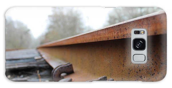 Rusted Track Galaxy Case
