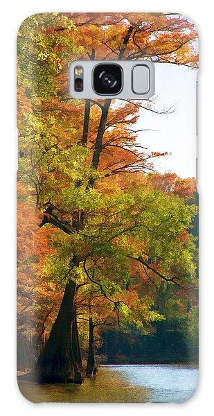 Rustic Autumn Galaxy Case