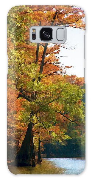 Rustic Autumn Galaxy Case by Lana Trussell