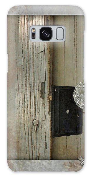 Rustic Glass Door Knob Galaxy Case