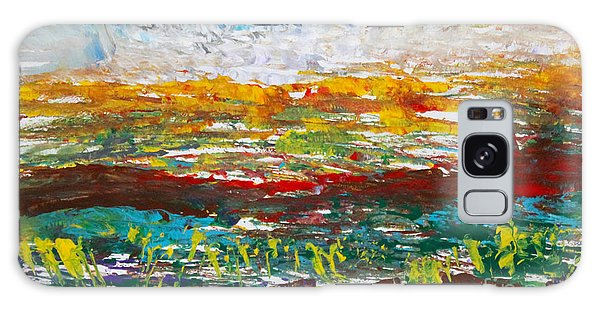 Rustic Landscape Abstract Galaxy Case