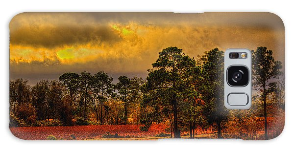 Rustic Pasture Galaxy Case