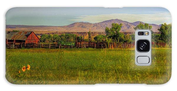Rustic Ranch Galaxy Case by Kelly Wade