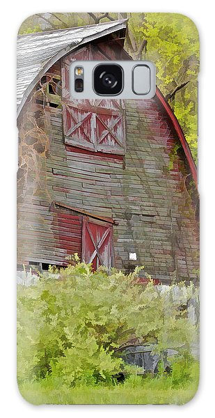 Rustic Red Barn II Galaxy Case