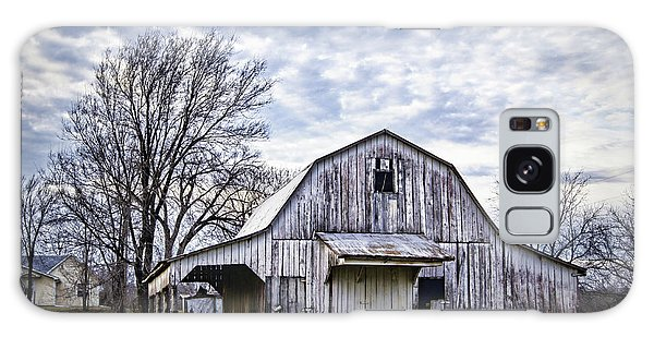 Rustic White Barn Galaxy Case