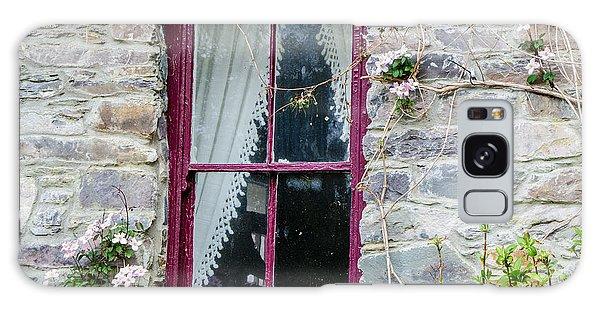 Rustic Window  Galaxy Case