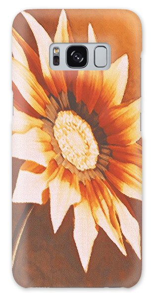 Rusty Gazania Galaxy Case
