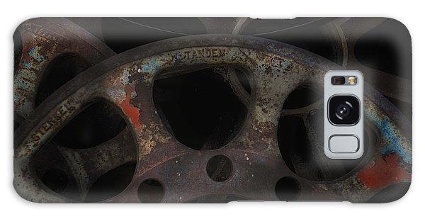Rusty Iron Gears Galaxy Case