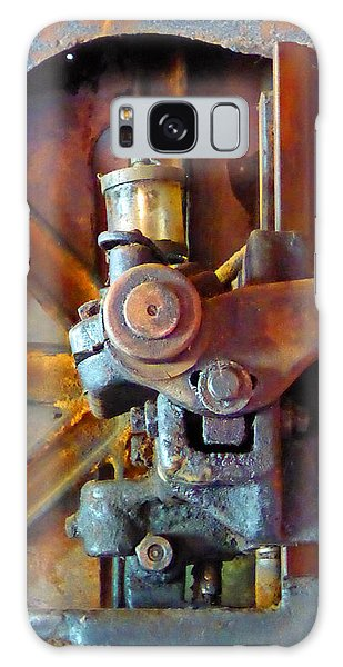 Rusty Machinery 2 Galaxy Case