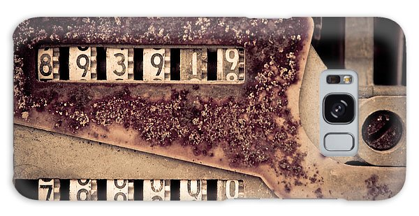 Rusty Meters Galaxy Case by Lawrence Burry