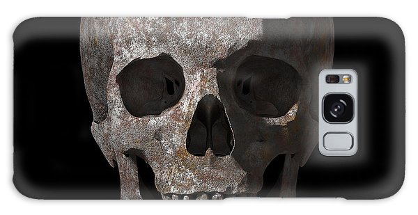 Rusty Old Skull Galaxy Case