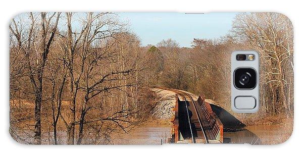 Rusty Railways Galaxy Case