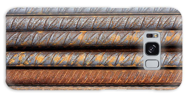 Rusty Rebar Rods Metallic Pattern Galaxy Case