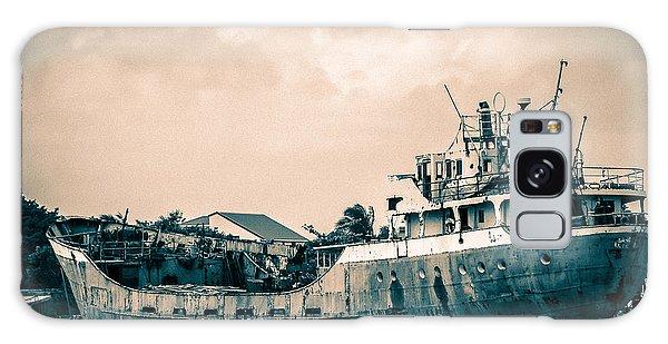Rusty Ship Galaxy Case