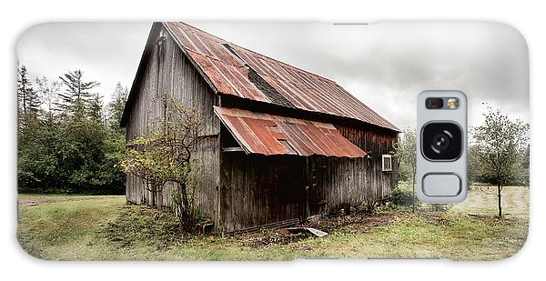 Rusty Tin Roof Barn Galaxy Case