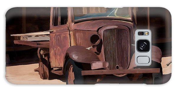Rusty Truck 04 Galaxy Case by Wally Hampton