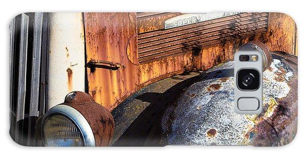 Rusty Truck Detail Galaxy Case by Garry Gay