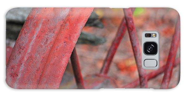 Rusty Wheel Galaxy Case by Jim Rossol
