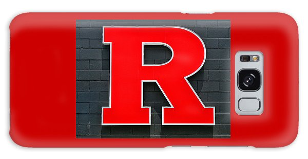 Rutgers Block R Galaxy Case