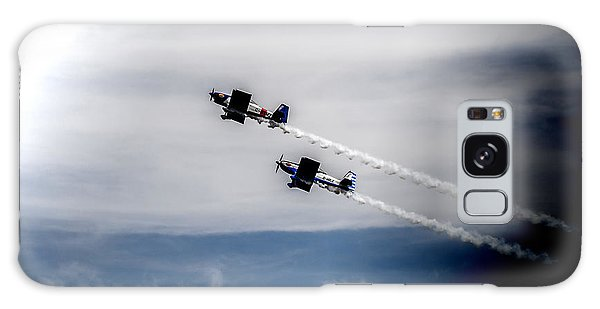 Galaxy Case featuring the photograph Rv8tors Flying High Sunderland Air Show 2014 by Scott Lyons