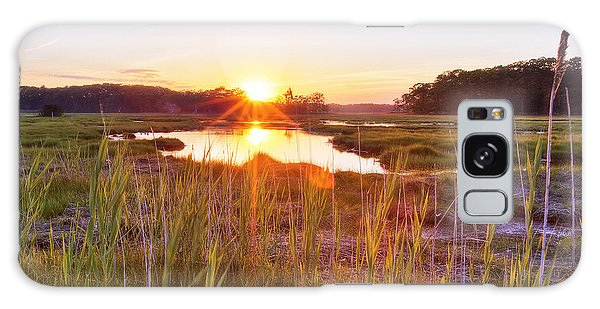Rye Marsh Sunset Galaxy Case