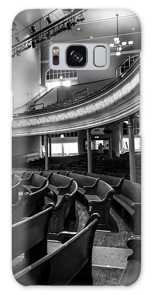 Ryman Auditorium Pews Galaxy Case