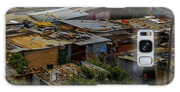 Galaxy Case featuring the photograph Sa Shanties by Donald Brown
