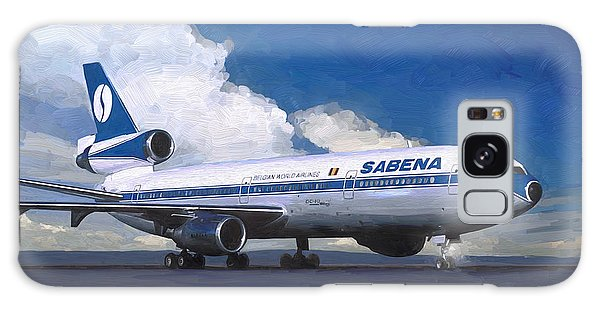 Sabena Dc-10 At Kinshasa Galaxy Case