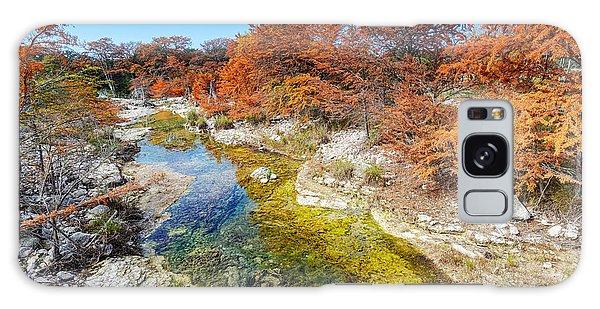 Sabinal River Magic Utopia Texas Hill Country Galaxy Case