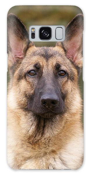 Sable German Shepherd Dog Galaxy Case