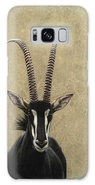 Wildlife Galaxy Case - Sable by James W Johnson